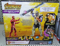 Hasbro Marvel Avengers Infinity War Iron Man vs Thanos