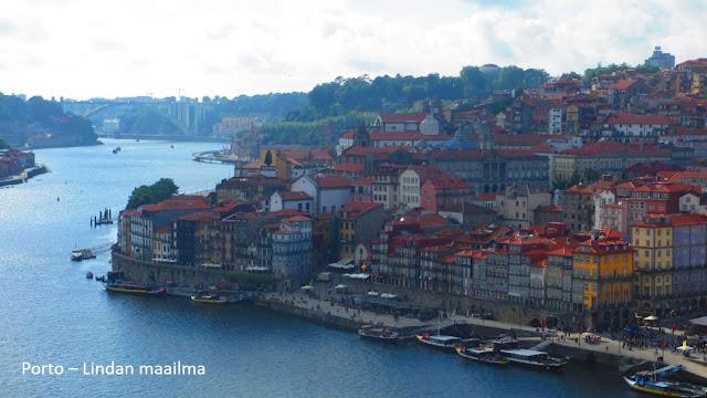 Näkymä Douro-joelle Porto Portugali
