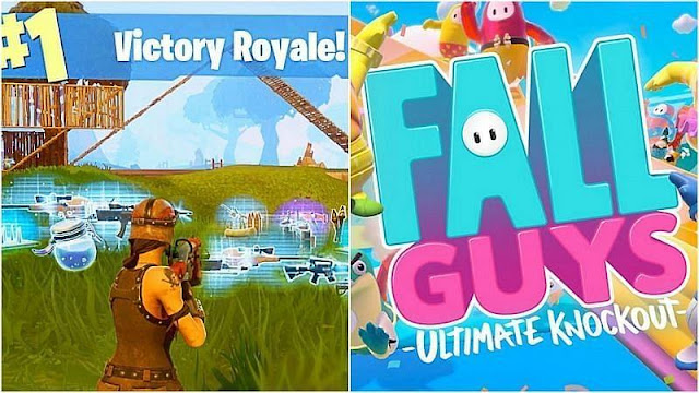 Fall Guys vs Fortnite: Fall Guys, Fortnite'ı en popüler battle royale olarak tahttan indiriyor