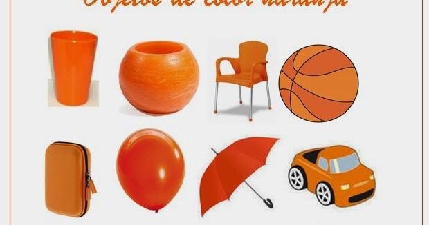 Cyber PuntoNet : Objetos De Color Naranja