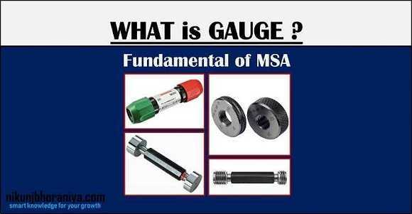 What is Gauge? | Types of Gauges are used in measurement?