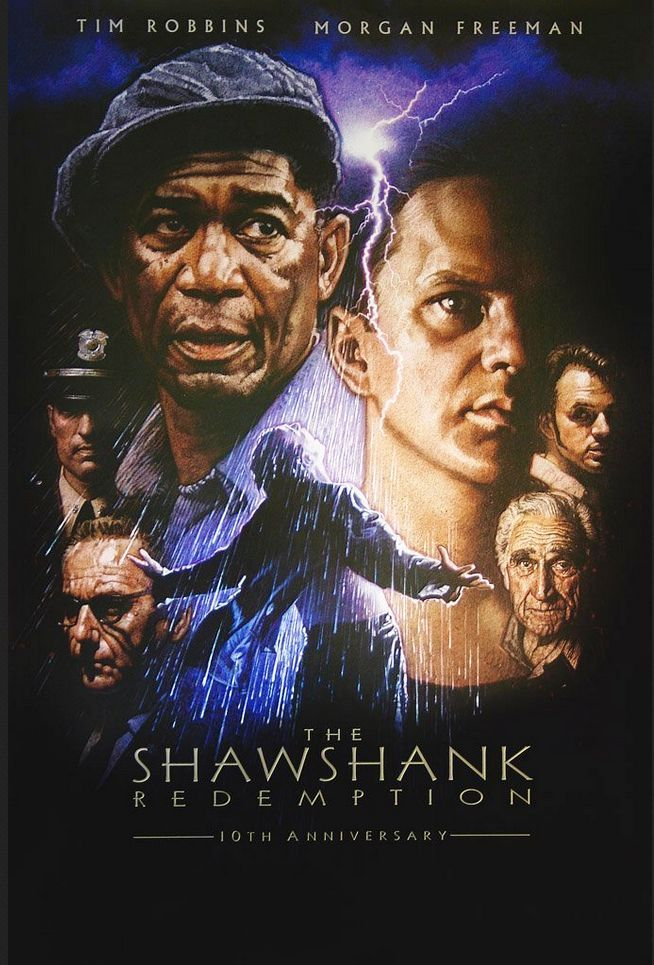 The Shawshank Redemption (1994) Full Movie In Hindi 720p Bluray 921MB Download