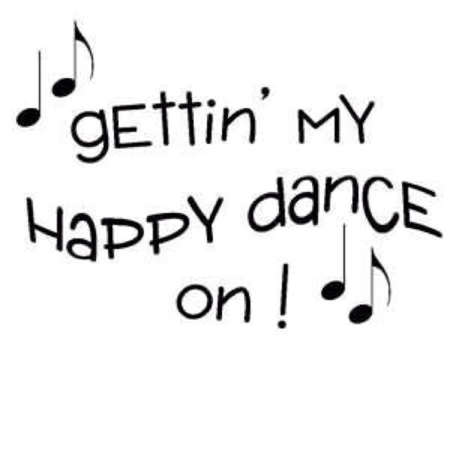 My Cozie Corner: Getting My Happy Dance On.....Finally!!!