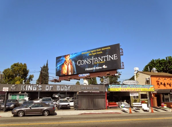 Constantine NBC billboard