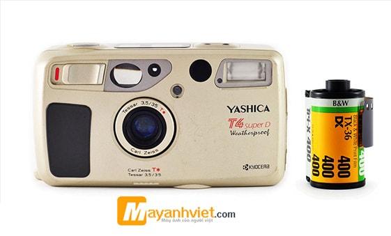 Máy ảnh YASHICA T4 SUPER D