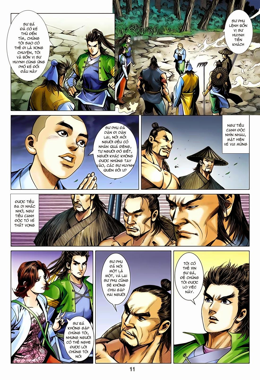 Anh Hùng Xạ Điêu anh hùng xạ đêu chap 75: hoàng thành cựu sự trang 11