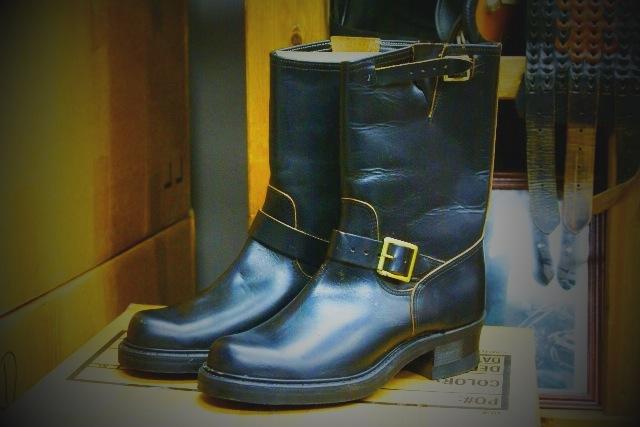 3e4208792733d Vintage Engineer Boots: 1950'S J.C.PENNEY CO. BIG MAC HORSEHIDE ...