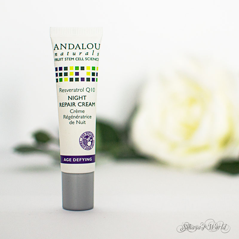 crema andalou naturals night repair cream