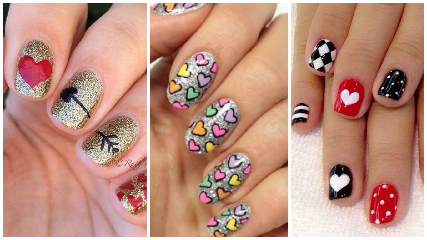 Cómo hacer diseño de corazones en las uñas paso a paso ~ Belleza y ...