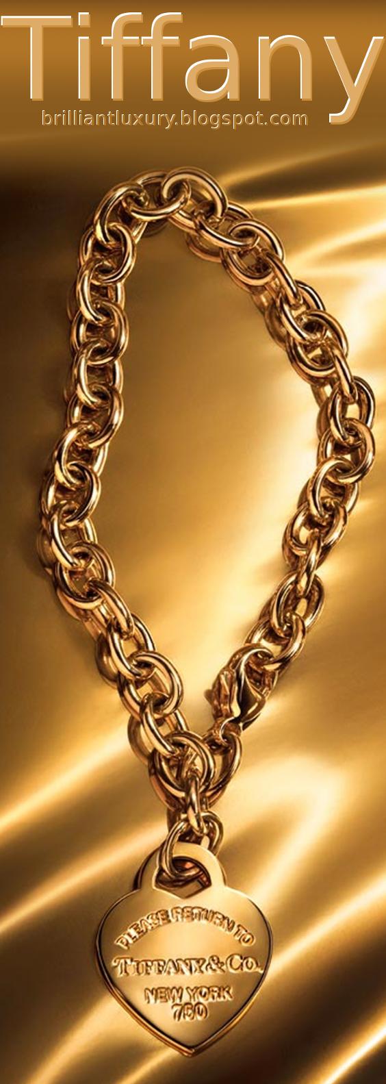 Brilliant Luxury ♦ Tiffany heart tag bracelet