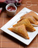 Onion samosa recipe