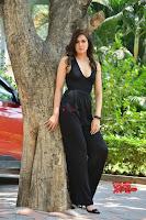 Sakshi Chaudhary in beuatiful black Deep neck Top and trousers at oollo pelliki kukka ~  Exclusive Galleries 030.jpg