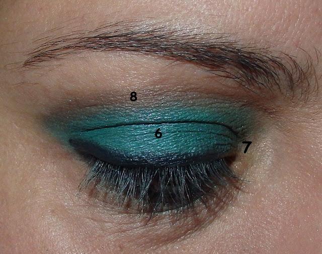 #maquillaje_ojos_verde_marron