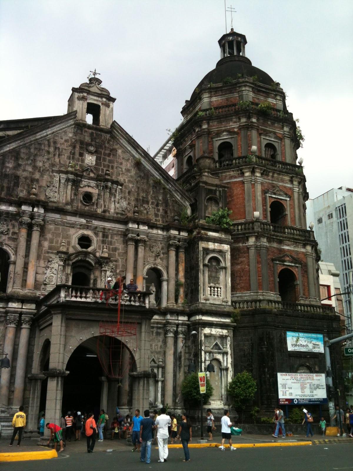 I'm Under Construction: Quiapo Church, Binondo Church and