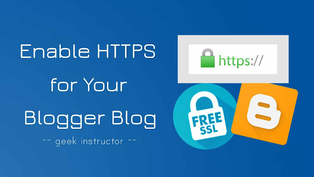 Enable HTTPS on custom domain Blogger blog
