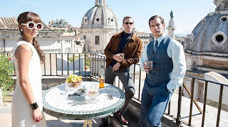 The Man From UNCLE Henry Cavill Armie Hammer 2015