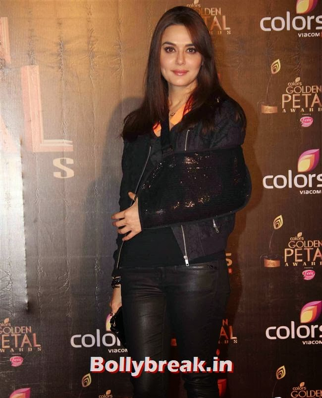 Preity Zinta, Colors Tv 3rd Golden Petal Awards