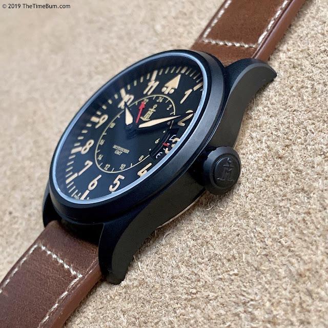 Monchard Skytoucher GMT black