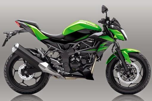 New Kawasaki Z250L