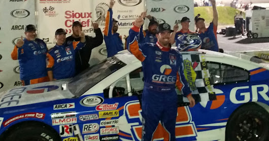 Gus Dean with emotional ARCA win at ELKO