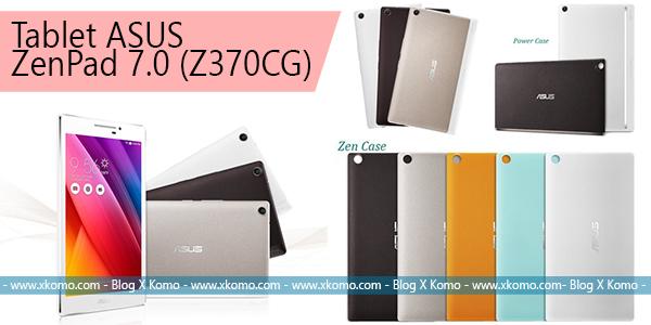 Tablet Terbaru ASUS ZenPad 7.0 (Z370CG) Spesifikasi Tinggi Harga Terjangkau Untuk Multimedia