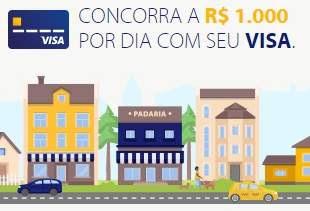 Cadastrar Promoção VISA Cidades do Futuro 2018 Mil Reais Por Dia