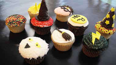 Harry Potter Bday Cupcakes