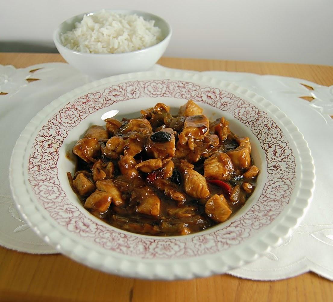 Rezept Hähnchen schmoren mit Black Bean Sauce