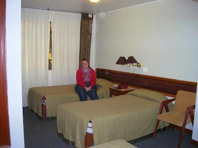 Habitación triple Hotel Crismar, Arequipa, Perú, La vuelta al mundo de Asun y Ricardo, round the world, mundoporlibre.com