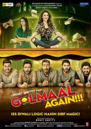 Golmaal Again 2017 Hindi 720p BluRay Full Movie Free Download