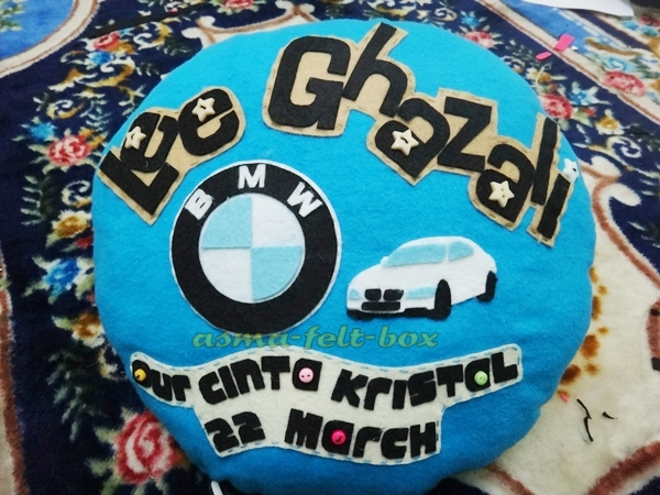 Cute Car Pillow