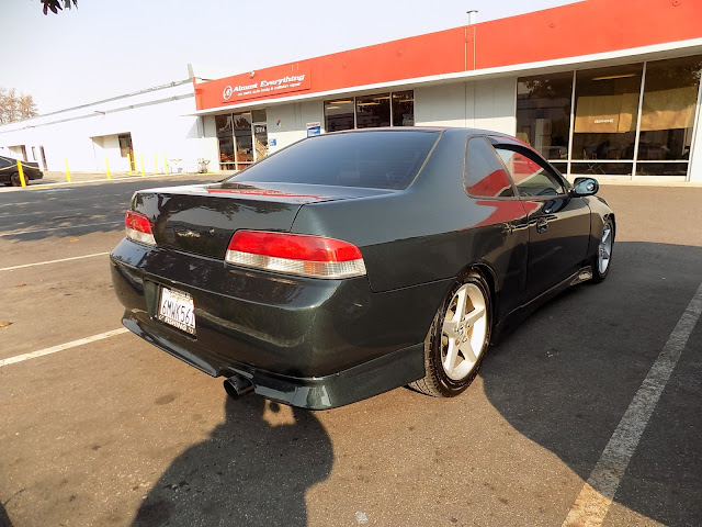 1997 Honda Prelude after complete paint job at Almost Everything Auto Body.