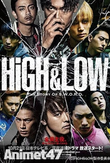 High & Low – The Story of Sword -  2015 Poster
