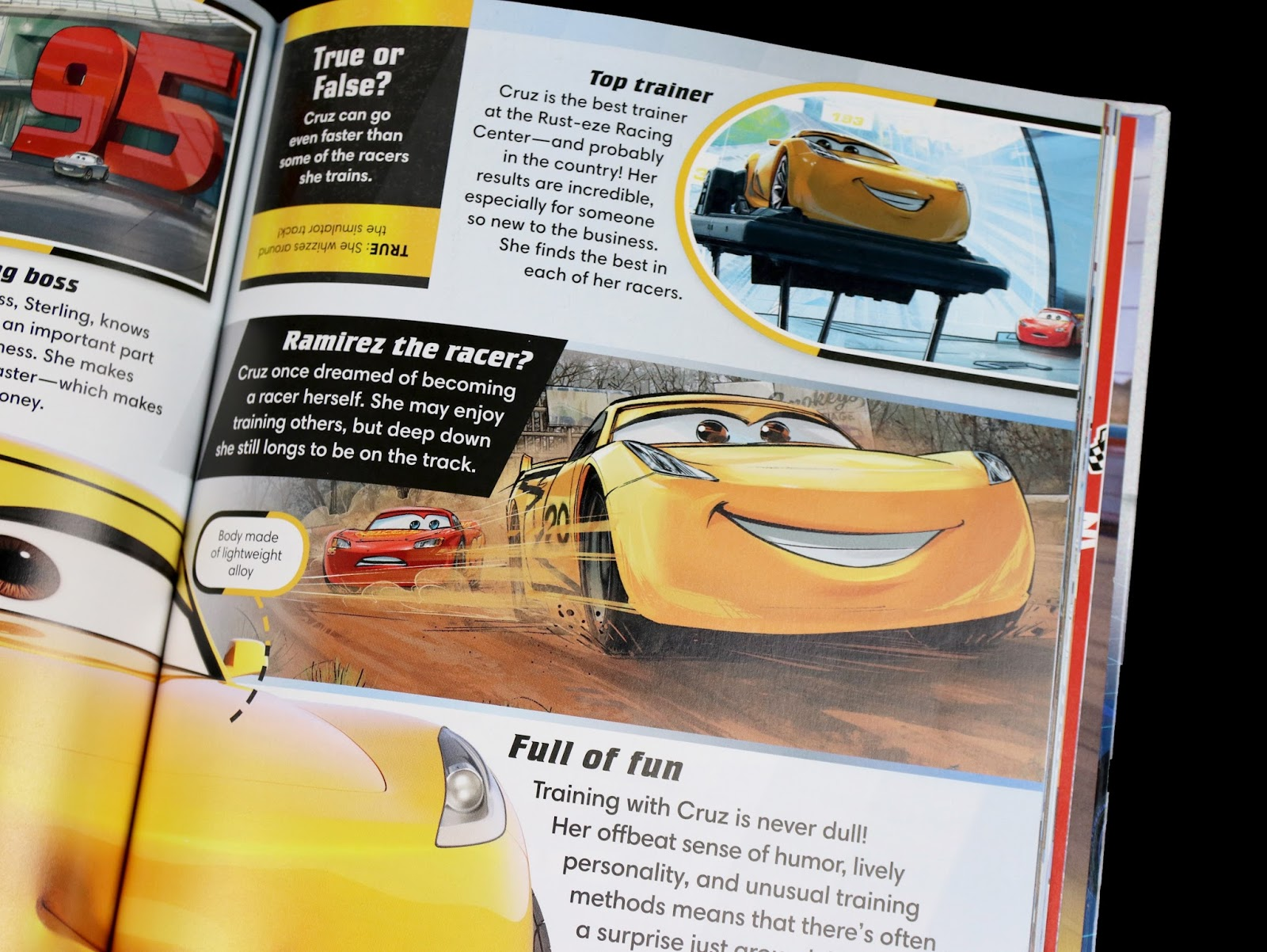 pixar cars 3 the essential guide book review