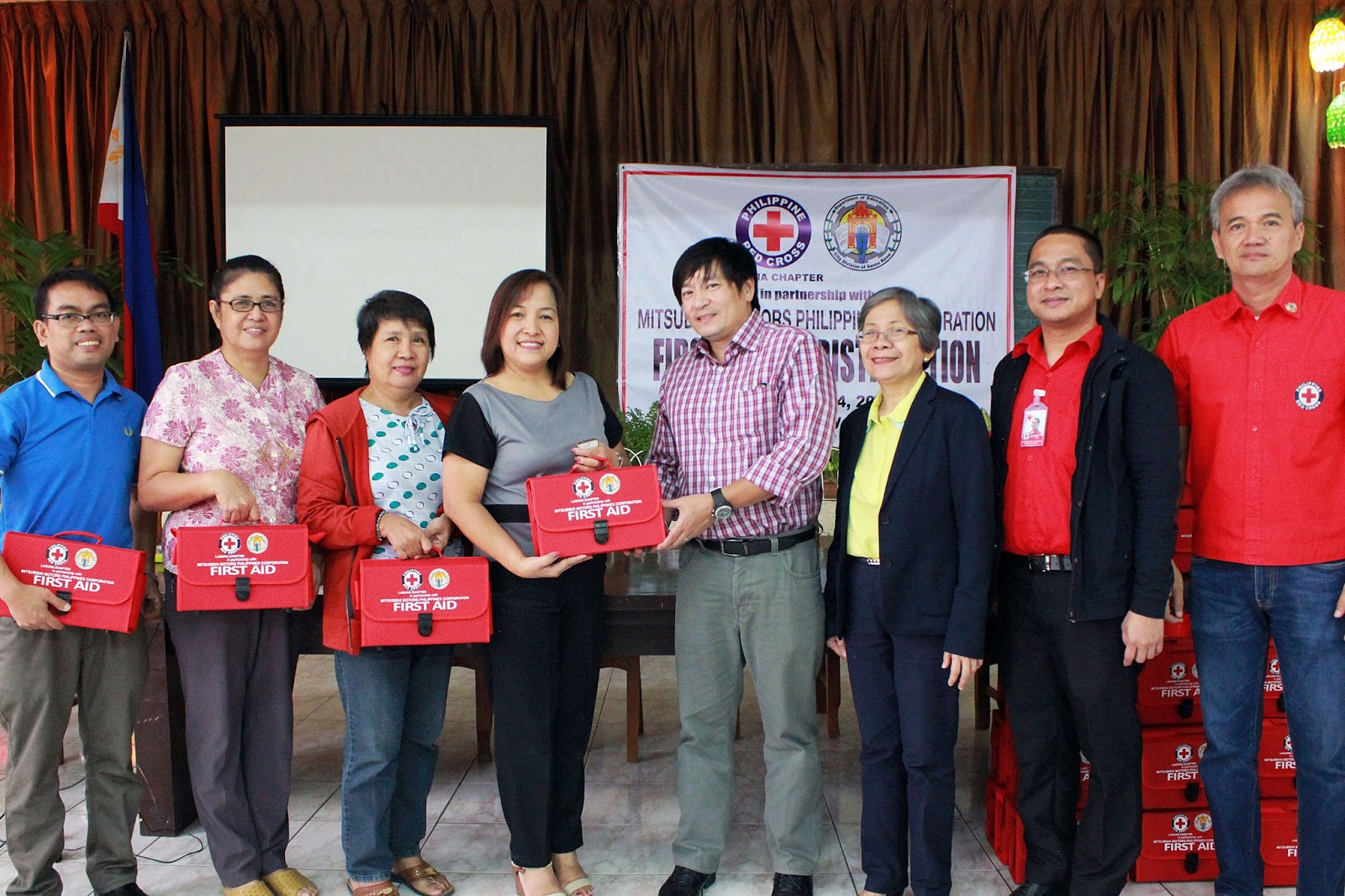 MMPC in Partnership with Philippine Red Cross – Laguna Chapter
