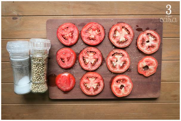 como preparar salada caprese