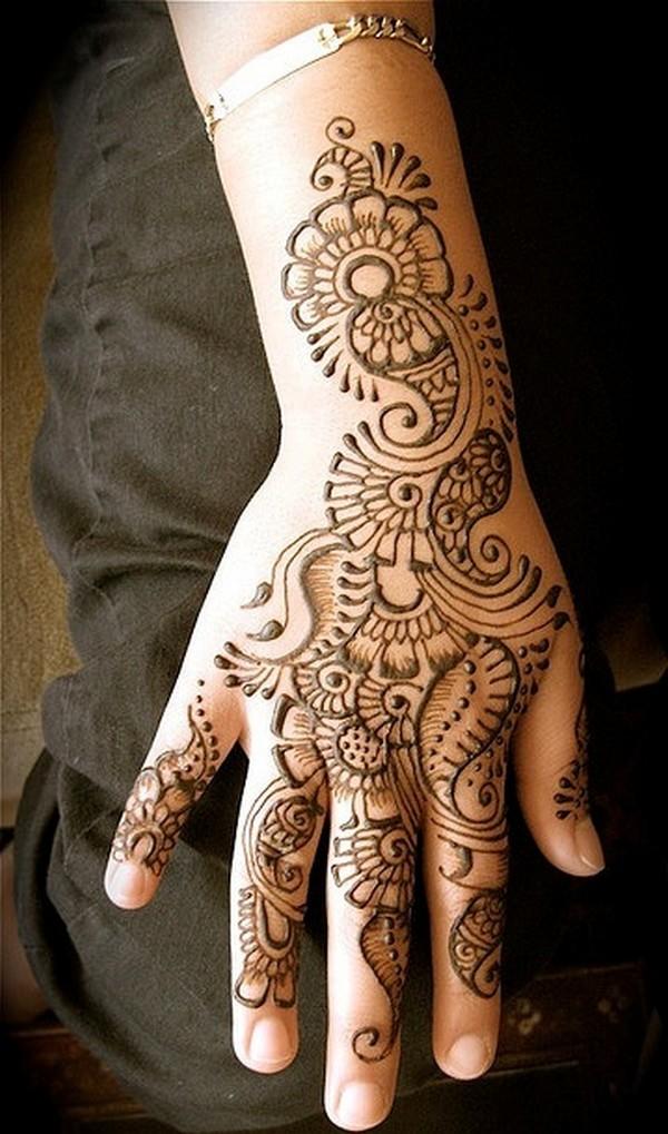 Mehndi Art Designs: Simple Mehndi Designs Beginners