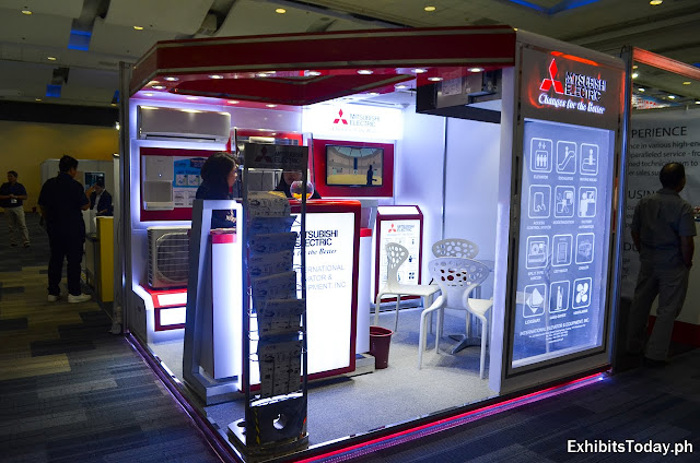 Mitsubishi Electric Exhibit Booth