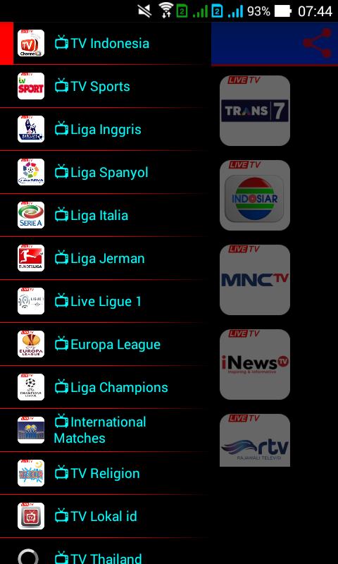 Bein Sports Hd Aplikasi Streaming Bola Siaran Tv Online Di