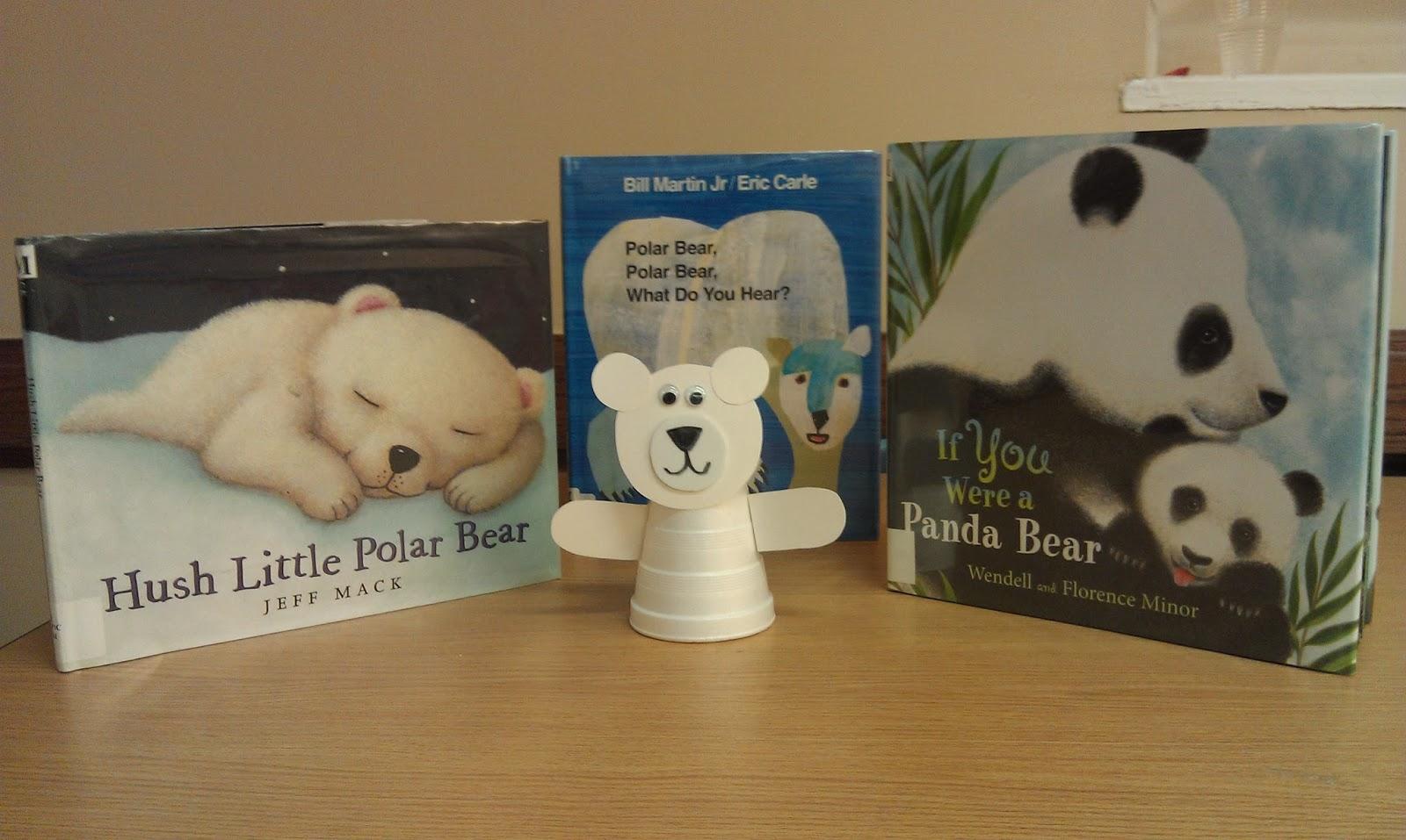 One Little Librarian Preschool Fun Polar Bear Time