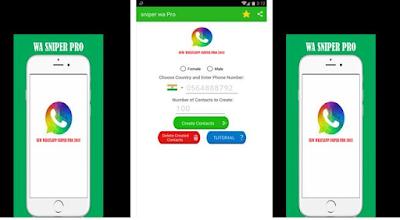 Cara Mendapatkan Ribuan Nomor Whatsapp Dengan Sekali Klik