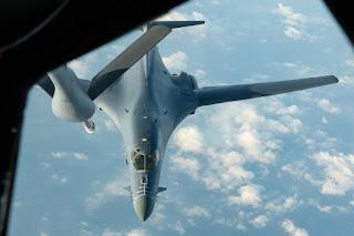 Pembom B-1B AU Amerika Serikat