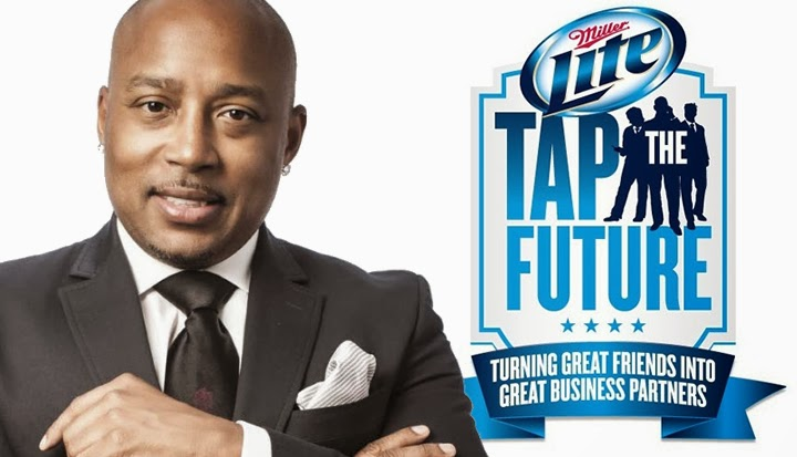 Daymond John Miller Lite Tap The Future