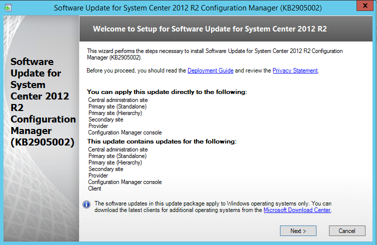 Gerry Hampson Device Management: Config Mgr (SCCM) 2012 R2 Hotfix
