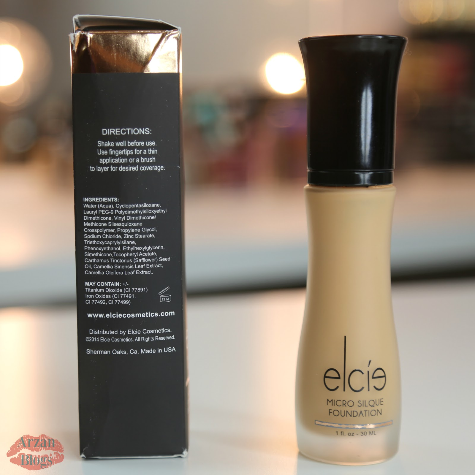 Elcie Micro Silque Foundation | Makeup Review ...