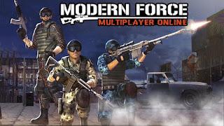 Modern Force Multiplayer Online Apk + Data Obb