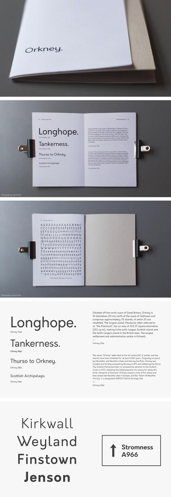Download Gratis Sans Serif Komersial Font - Orkney Free Font