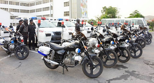 Ambode raises police death insurance benefit to N10M …Presents additional patrol vehicles, power bikes To RRS …Directs security agencies to ensure hitch-free yuletide