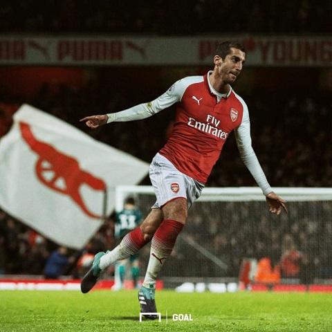 Mkhitaryan đã quyết định đầu quân cho CLB Arsenal