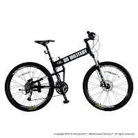 Sepeda Gunung Lipat Element US Military 27 Speed 26 Inci